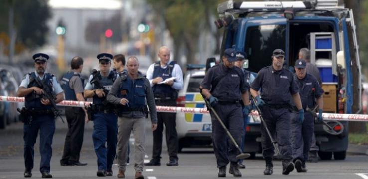 """إصابات بانفجار غاز بمدينة """"مذبحة المسجدين"""" في نيوزيلندا"""