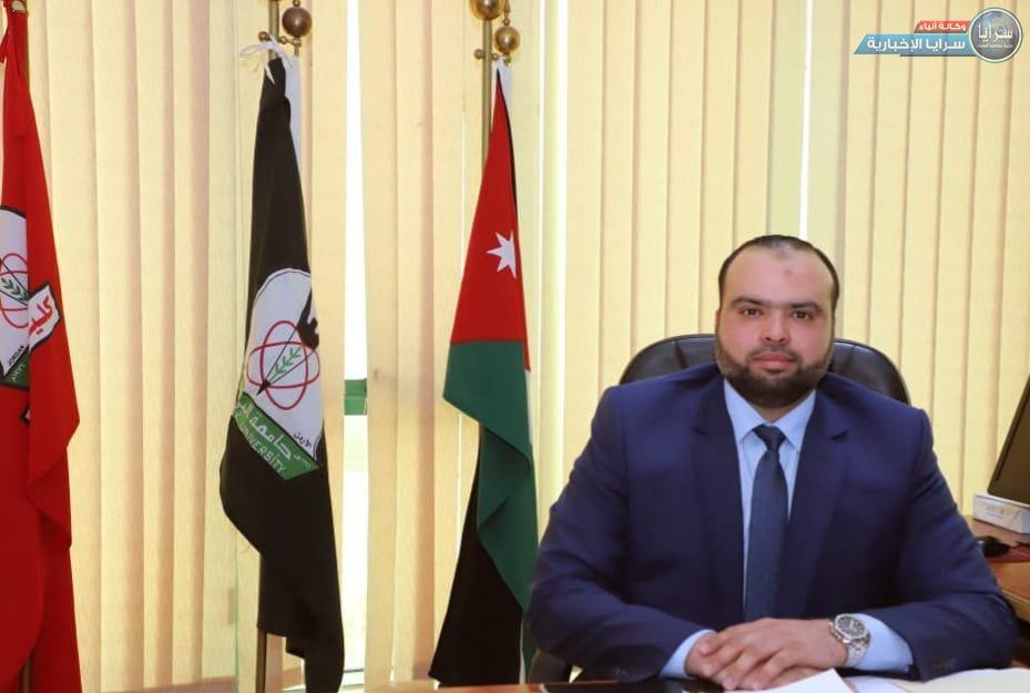 علي الحديد مديراً للعلاقات العامة في كلية الاعلام بجامعة اليرموك  ..  مبارك