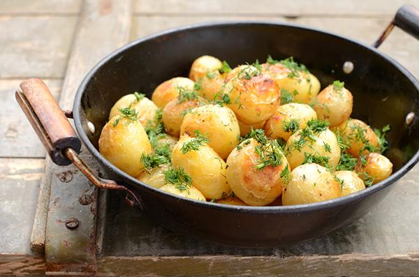 البطاطس المشوية بالبابريكا