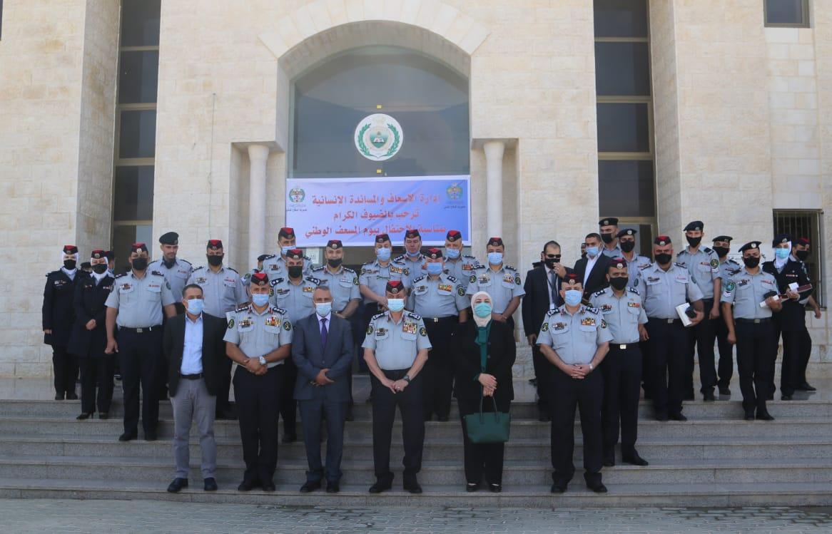 مديرية الدفاع المدني تحتفل بيوم المسعف الوطني