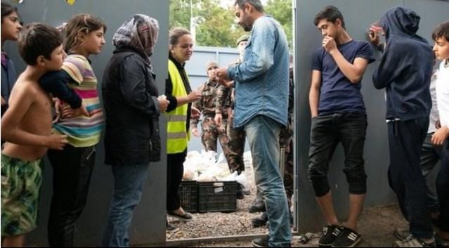 في المجر ..  تقديم الطعام لطالبي اللجوء قد يصبح جريمة
