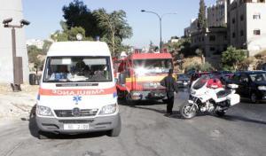 مركبة تدهس (4) مواطنين على طريق ياجوز