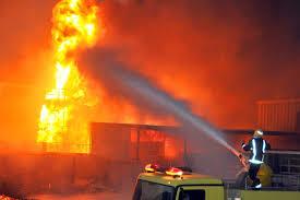 العراق : حريق يلتهم مدينة الطب ببغداد