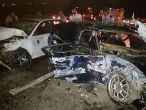 بالصور.. وفاتان و8 اصابات بحادث سير  في اربد