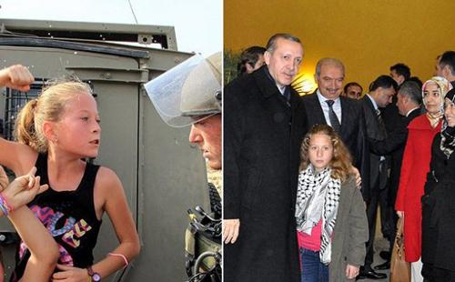 بالفيديو  ..  طفلة فلسطينية تتناول الإفطار مع أردوغان لشجاعتها