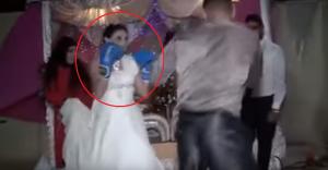 بالفيديو.. حفل زفاف في تونس يتحوّل لحلبة ملاكمة بين العروسين!