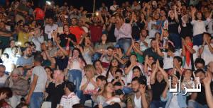 بالصور ... العبدلات يشعل المسرح الجنوبي وسط حضور جماهيري كبير
