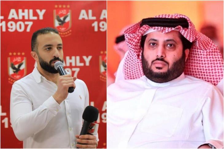 """""""هجوم متبادل"""" بين عضو مجلس الأهلي وتركي آل الشيخ"""