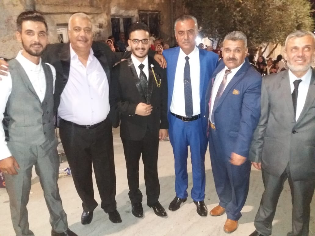 القاضي لؤي الرشايدة مبارك الزفاف