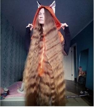 بالصور.. تعرفوا على رابونزل 'الحقيقية' صاحبة أطول شعر في العالم!