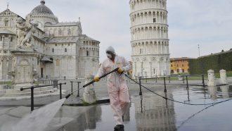 المدن الإيطالية المنكوبة بكورونا تطالب ألمانيا بمساعدتها كما ساعدها العالم بعد الحرب