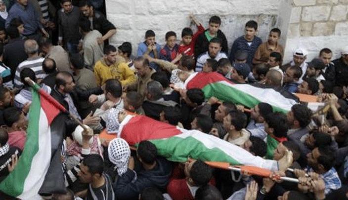 وقفة في نابلس للمطالبة  باسترداد جثامين الشهداء الموجودة لدى الاحتلال الإسرائيل