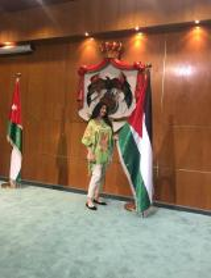 الدكتورة مرام أبو النادي  .. منسقة تطوير وتوثيق العلاقات مع الجامعات الأردنية