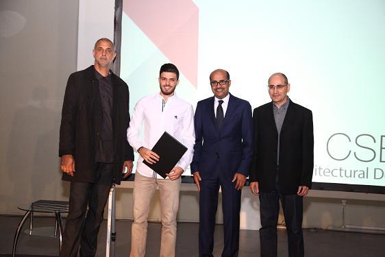 تكريم جامعة البترا لفوزها بالمرتبة الاولى بجائزة التميز العمرانية