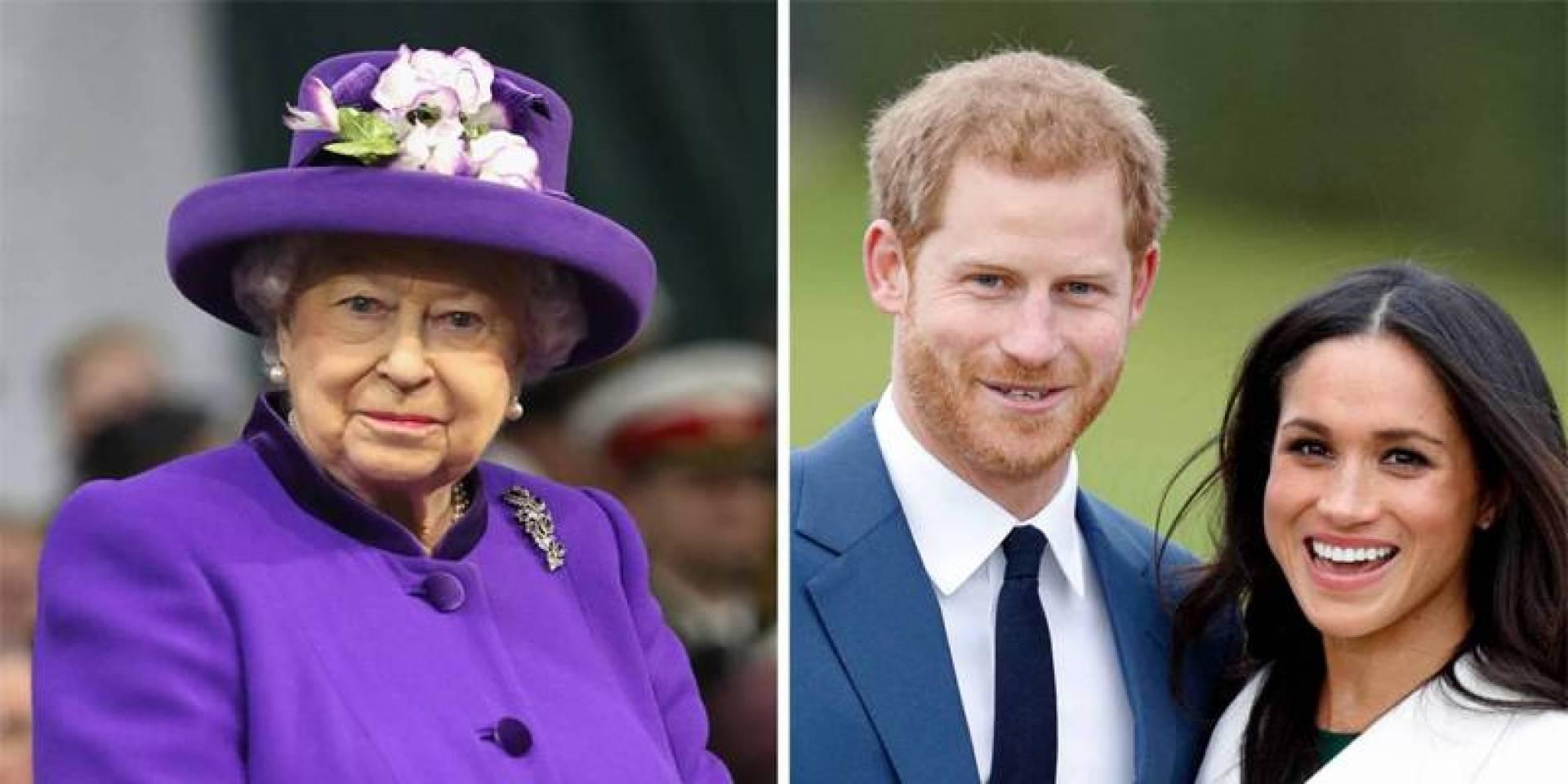 ملكة بريطانيا توافق على تخلي الأمير هاري وميغان عن مهامهما الملكية