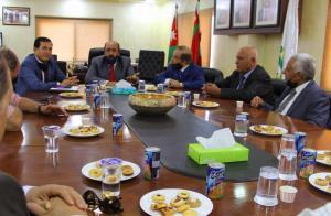 الشوبكي يلتقي اللجنه العليا لشؤون المتقاعدين العسكريين