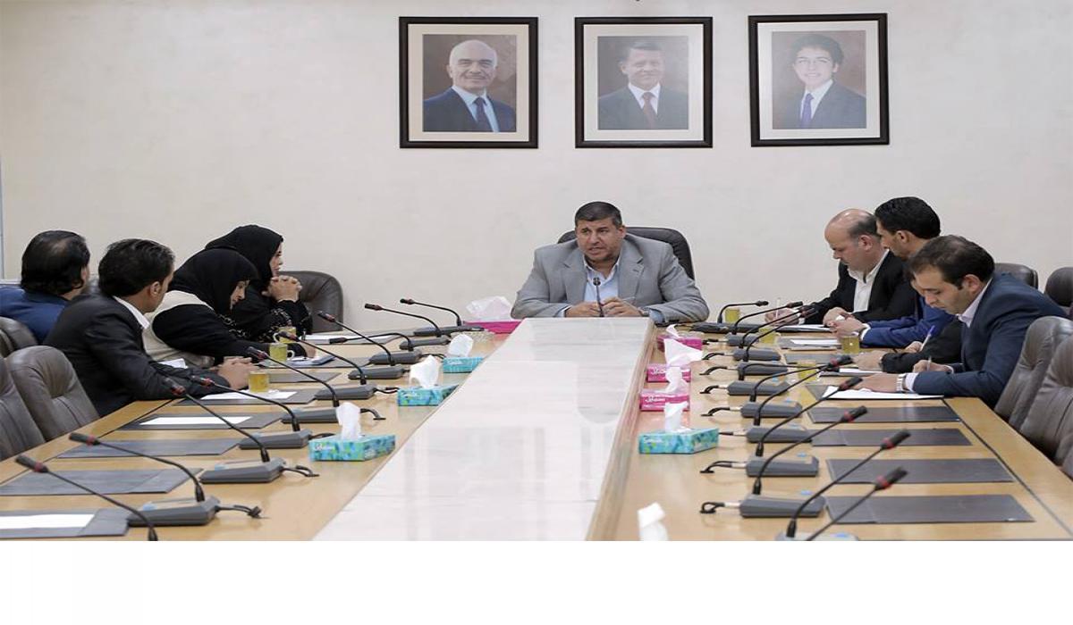 """""""فلسطين النيابية"""" تلتقي الأمير غازي ورئيسة نادي الإمارات للأعمال"""