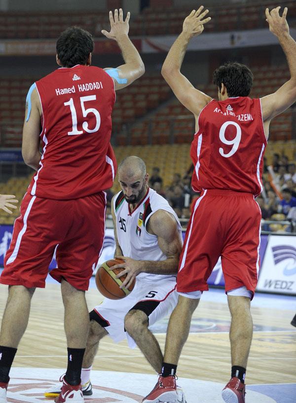 منتخب السلة يعاود تدريباته اليوم وتعديل على جدول تصفيات غرب آسيا