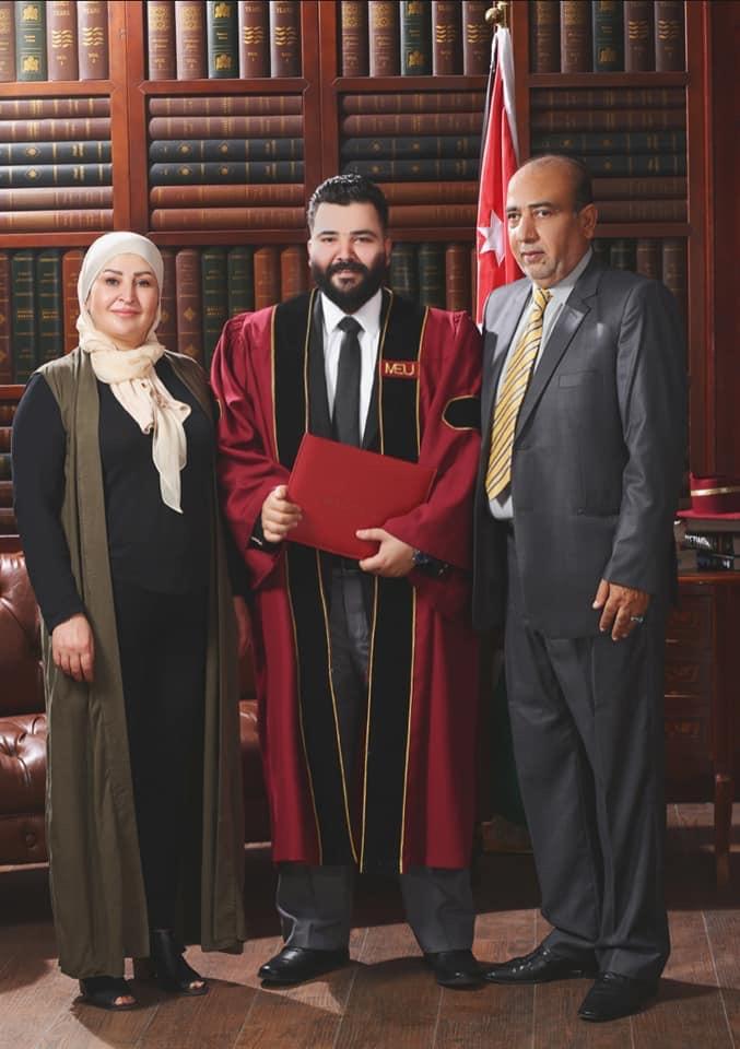 محمد الطاهر  .. مبارك التخرج