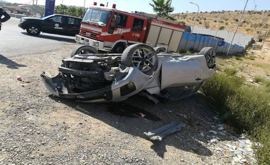 وفاة عشريني بحادث تدهور مركبته في غور الصافي