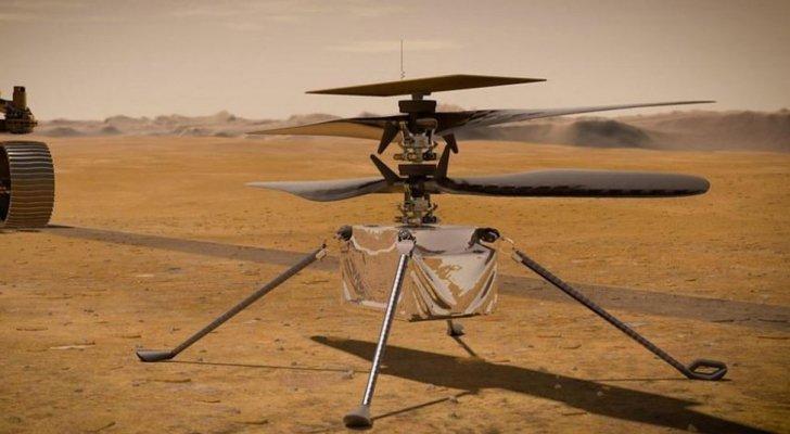 """""""ناسا"""" تستعد لإطلاق أول مروحية على المريخ الاثنين"""