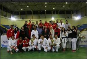 """""""الأردنية"""" تظفر بكأس كراتيه الجامعات في أولى بطولات الاتحاد الرياضي للجامعات الاردنية"""