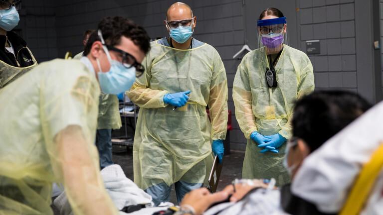 الولايات المتحدة تسجل أعلى حصيلة وفاة منذ بدء تفشي الوباء