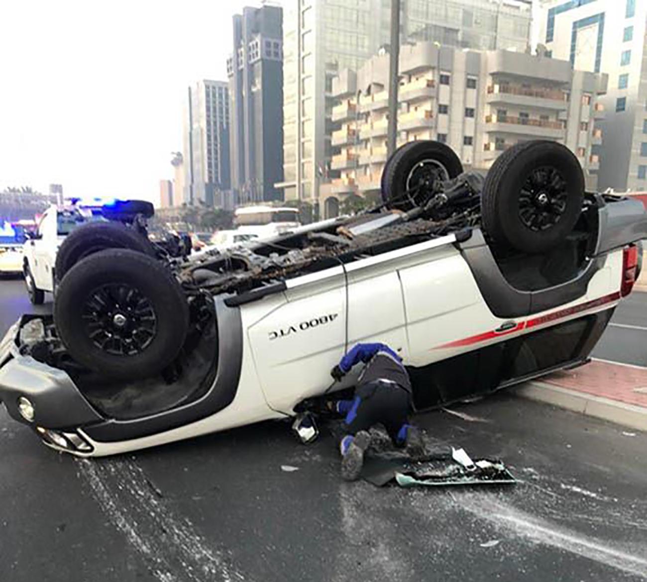 شرطة دبي: إصابة 6 أشخاص في حوادث مرورية متفرقة خلال 48 ساعة