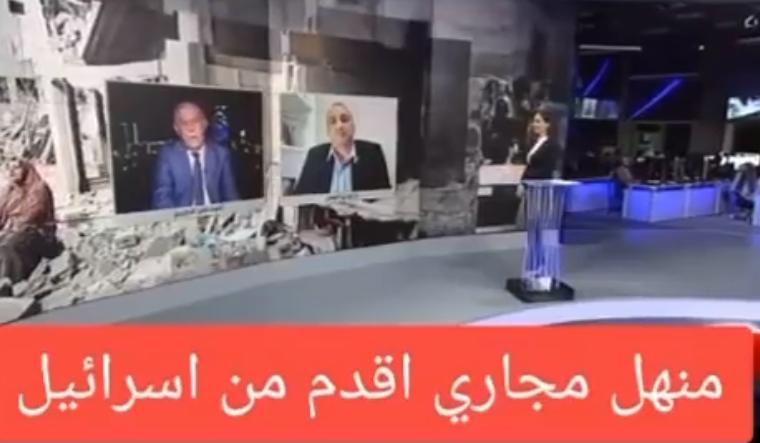 """بالفيديو  ..  خبير أردني """"يقصف جبهة"""" الصهيوني """"كوهين"""": """"غطاء مُنهل في يافا"""" أقدم من """"كيانكم"""""""