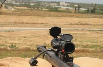 """قناص غزة اصاب """"الاسرائيلي""""عن بعد 1000 متر وهذه المهارات غير متواجدة الا في قوات النخبة"""