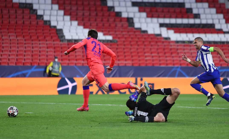 بالفيديو والصور  ..  تشيلسي يحقق الفوز خارج الديار في ربع نهائي دوري الأبطال