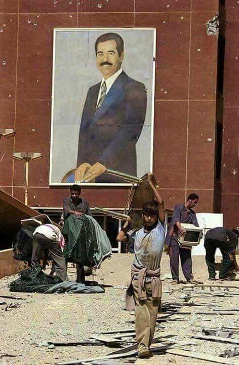 بالصور  ..  خبراء امريكيون يعترفون : ثمن القبض على صدام حسين كان باهضا جدا