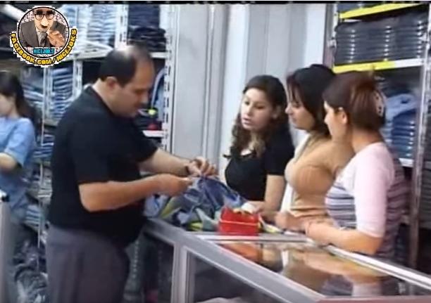 بالفيديو  ..  اضحك مع اللبنانيين في محل لبيع الملابس