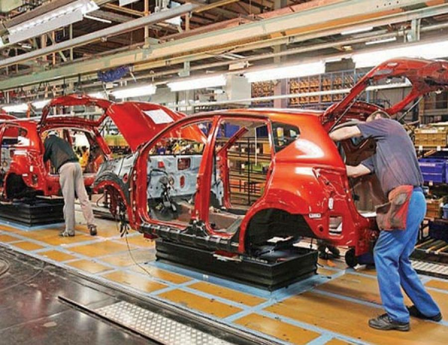 انخفاض إنتاج السيارات البريطانية 18%