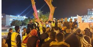 """عدوى """"السترات الصفراء"""" تنتقل إلى محتجين بالعقبة"""