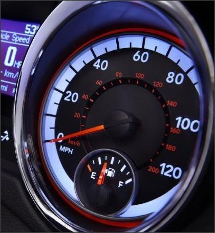 سبب احتواء عداد السيارة على سرعات غير حقيقية