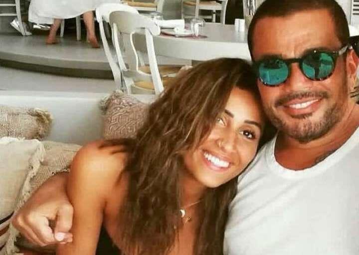 شاهدوا بالفيديو  ..  عمرو دياب ودينا الشربيني  ..  قدم لها 3 هدايا و شرطان أنهيا علاقتهما  ..  ماهما؟