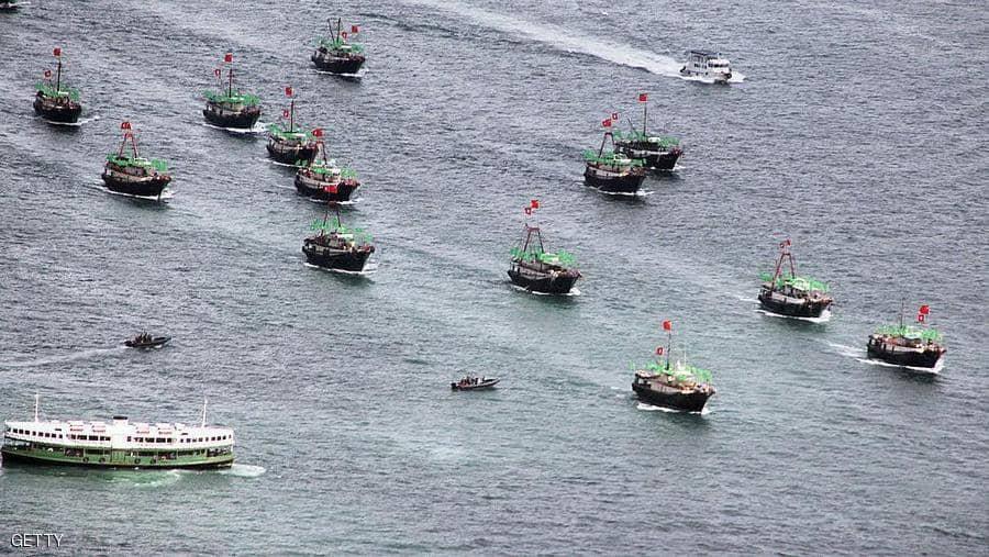 """سفن صيد صينية تثير """"حربا على تويتر"""" بين واشنطن و بكين"""