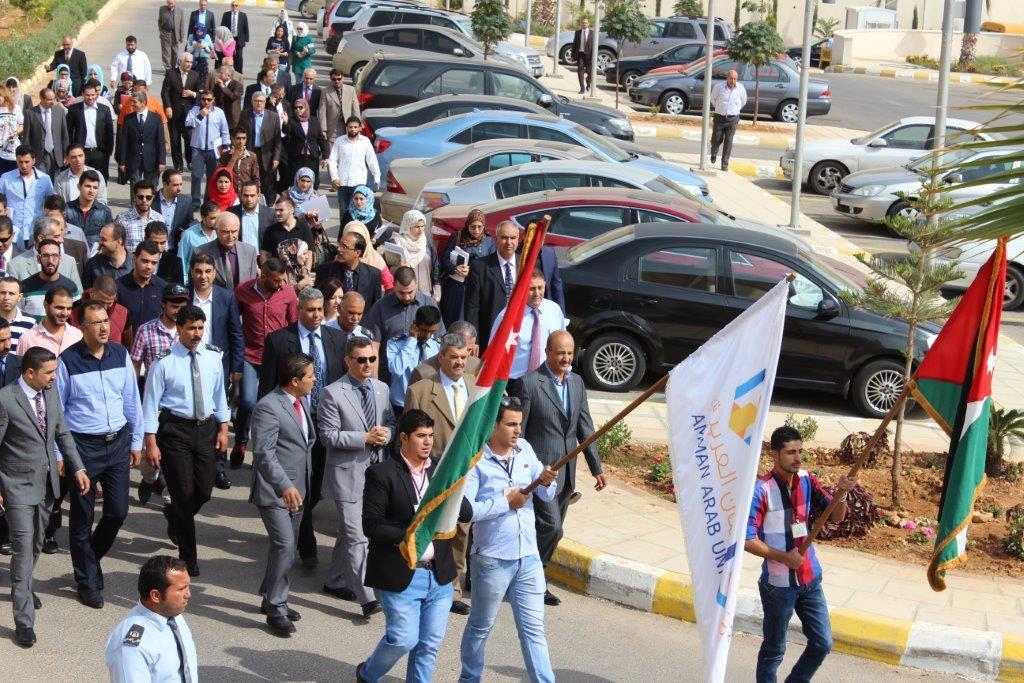جامعة عمان العربية تعقد لقاء تنويري للطلبة المستجدين
