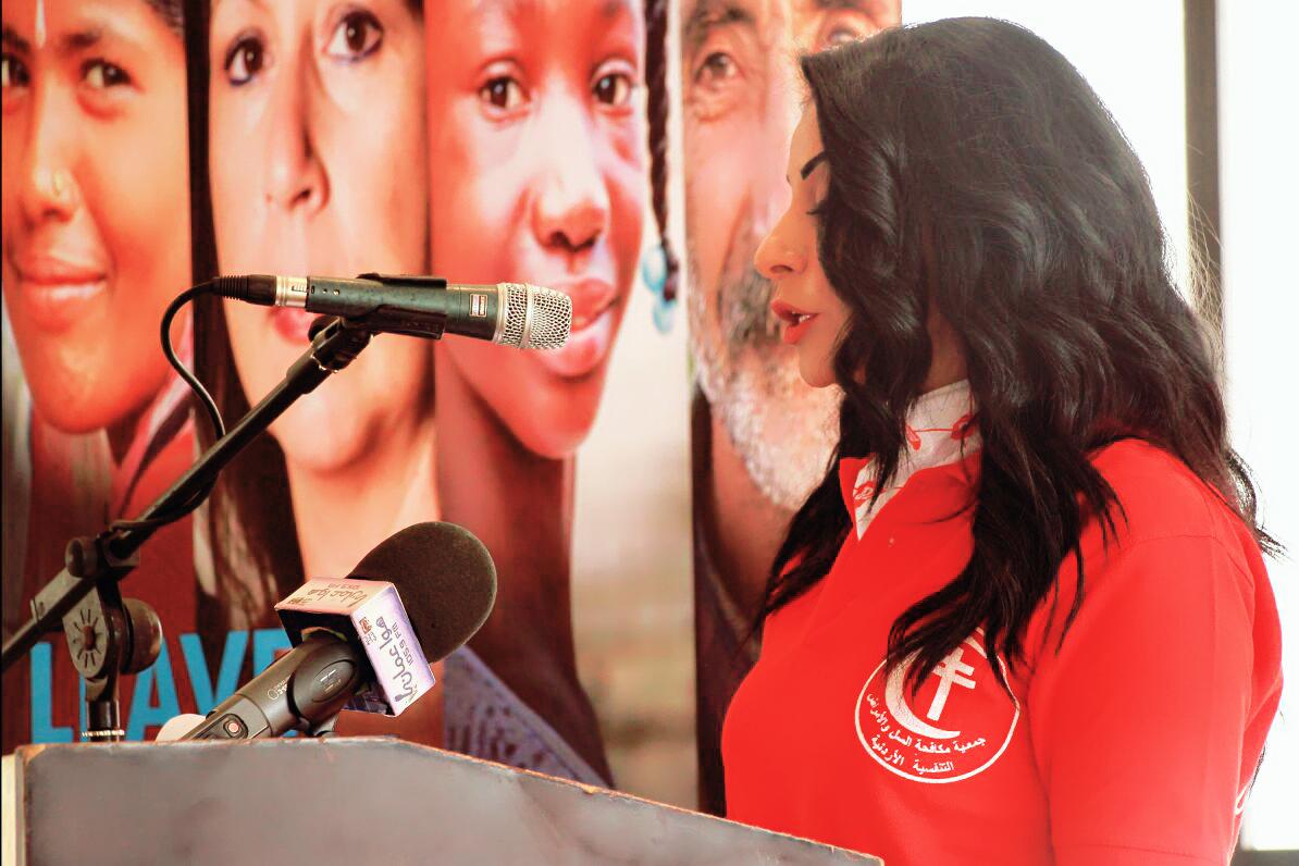 سفيرة النوايا الحسنة رانيا اسماعيل في يوم السل العالمي