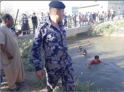 وادي الأردن قناة الملك عبدالله لا تزال مصيدة غرق للأطفال ..  ومشهد يتكرر سنويا