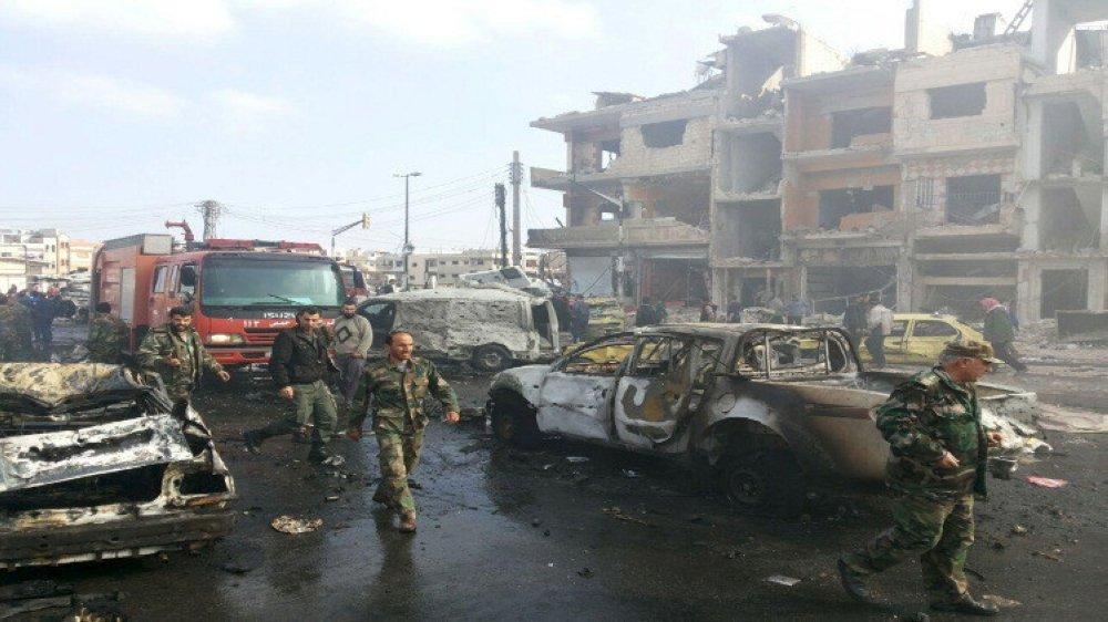 كيف تم تنفيذ الهجوم على مقرات امن الدولة والامن العسكري في حمص؟