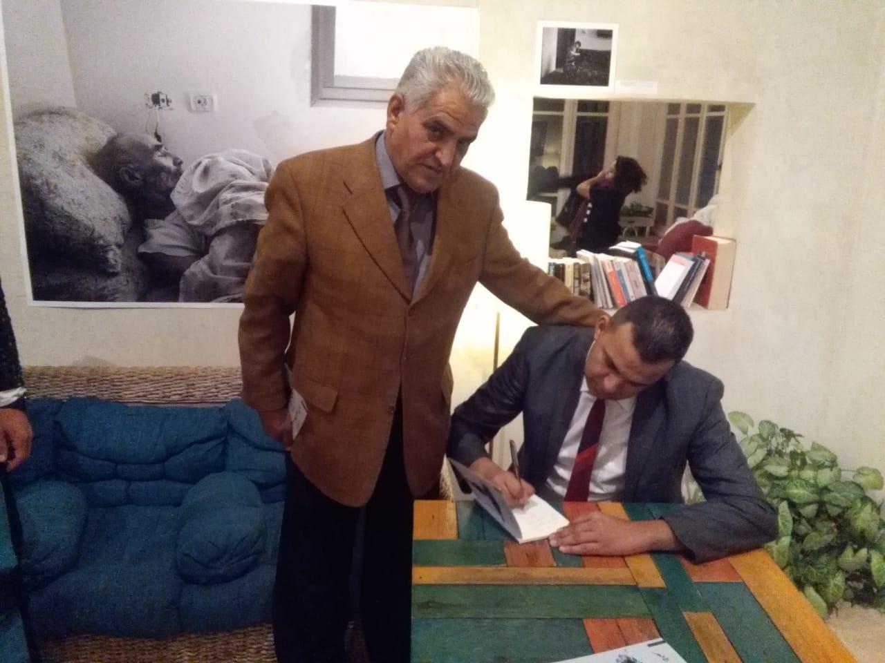 إسلام حيدر  يشهر مجموعته القصصية « ليلة الغفران الأخير»
