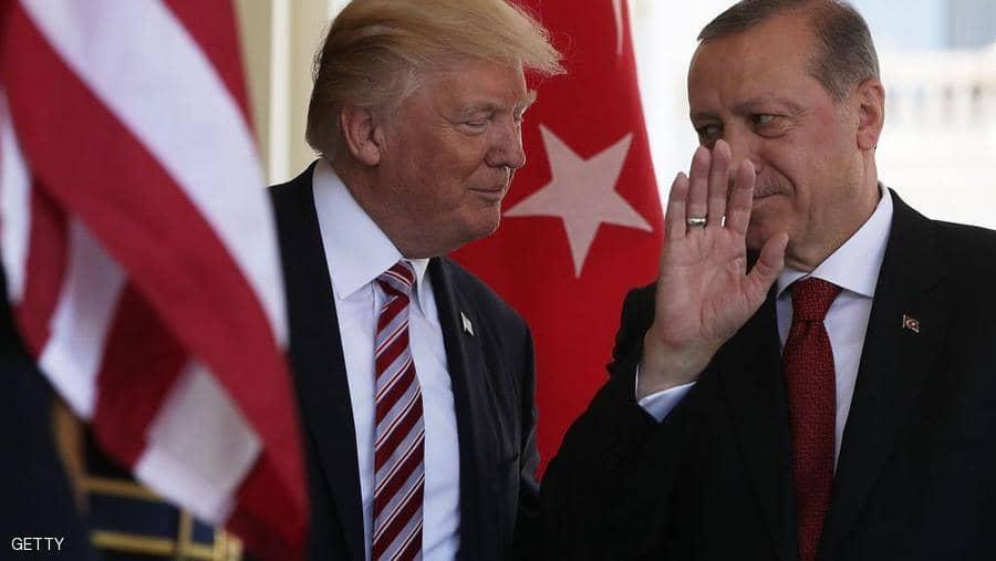 أردوغان ألقى رسالة ترامب في سلة المهملات