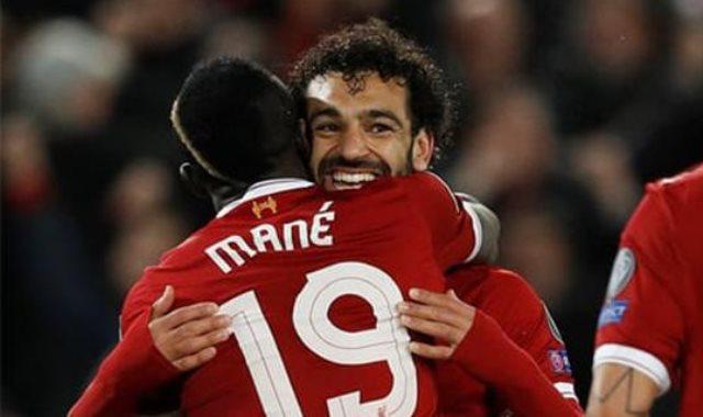 صلاح يتصدر أسرع لاعبي ليفربول وصولا للهدف الـ50 ..  ماني سادسا