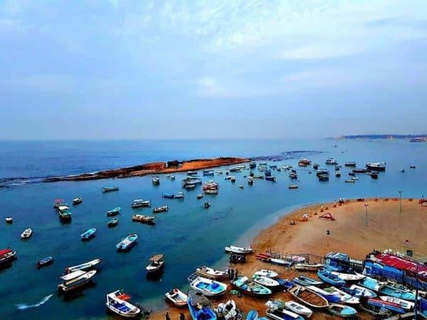 بالصور  ..  أجمل النشاطات السياحية في شاطئ ميامي بالاسكندرية