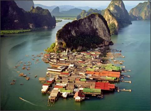 بالصور .. خليج فانغ نغا أنغام الطبيعة في تايلند