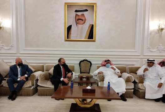 الأمير علي يصل الكويت لمتابعة المنتخب