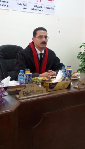 مبروك الماجستير خالد المعايطة