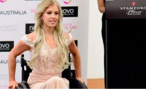 شابة مقعدة تتقدم لمسابقة ملكة جمال أستراليا